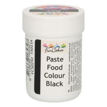Pâte colorante alimentaire Funcakes noire