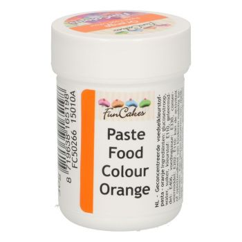 Pâte colorante alimentaire Funcakes orange