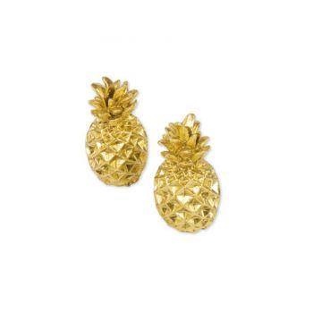 2 marque places Ananas doré