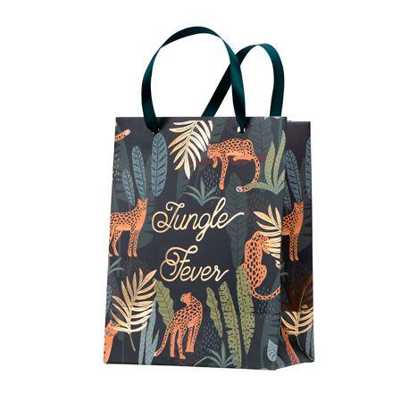 4 superbe sacs cadeaux en carton avec anse en satin vert pour une décoration de fête d'anniversaire sur le thème de la...