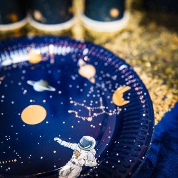 8 Assiettes Space