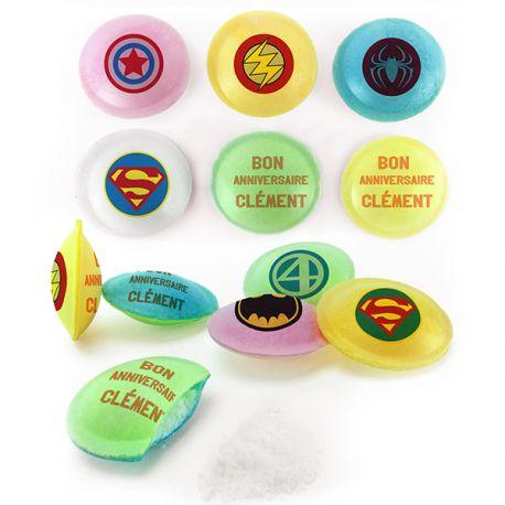 Les Pixipops sont des bonbons soucoupes acides multicolores à personnaliser avec vos messages personnels. Ces soucoupes sont idéales...