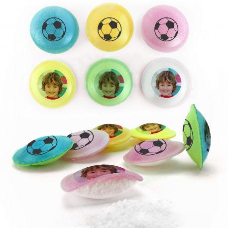 Les Pixipops sont des bonbons soucoupes acides multicolores à personnaliser avec vos photos personnelles. Ces soucoupes sont idéales...