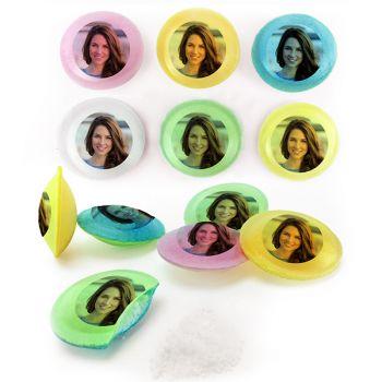 Exemple d'impression de bonbons personnalisés Pixipop photo