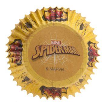 25 caissettes cupcakes Spiderman