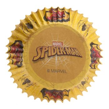 50 caissettes cupcakes Spiderman
