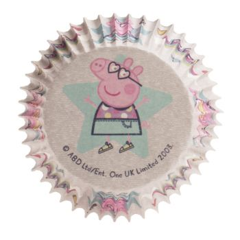50 Caissettes Peppa pig