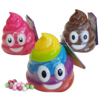Boite de bonbons Emoji caca
