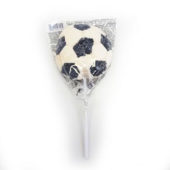 Sucette marshmallow ballon de foot