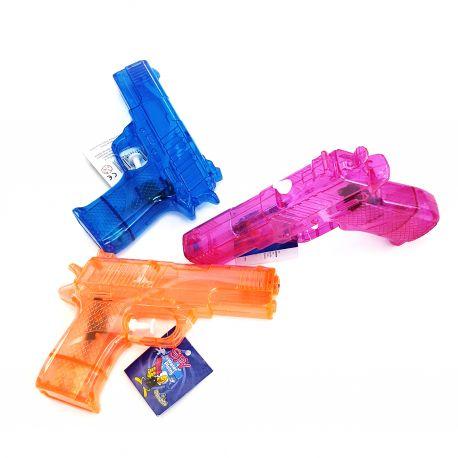 A l'approche des beaux jours, un produit fun et rafraîchissant : SUPER PISTOL CANDY ,un pistolet à eau , rempli dans sa crosse de...