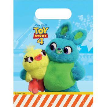 6 Sachets de fête Toy Story 4