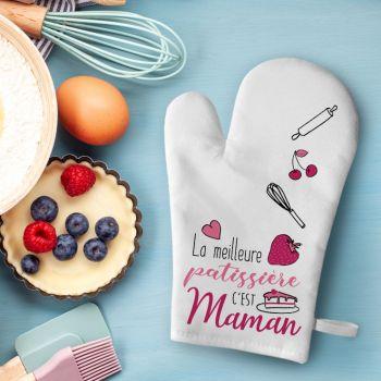 Gant de cuisine décor Maman Patissière