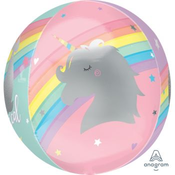 Ballons Orbz XL Magical rainbow