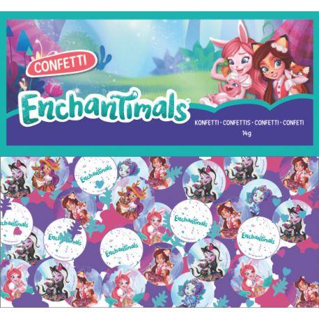 Confettis de table métallisé thème Enchantimals pour une belle décoration de table d'anniversaireDimensions: 14gr