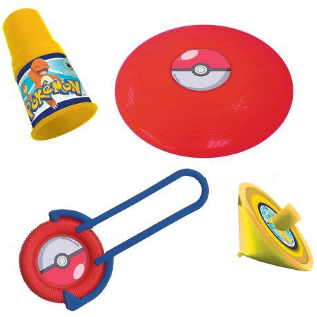 Assortiment de 24 jouets pour anniversaire sur le thème PokemonContient 4 jouets différents pour 6 enfantsNe convient pas...