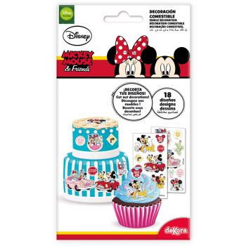 18 Décors comestible Mickey