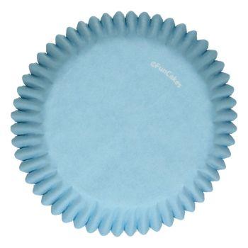 48 Caissettes bleu clair Funcakes