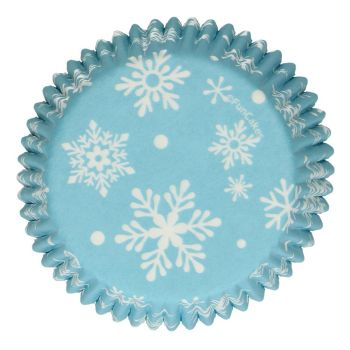 48 Caissettes cupcakes hiver Funcakes