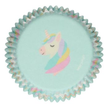 48 Caissettes Licorne Funcakes