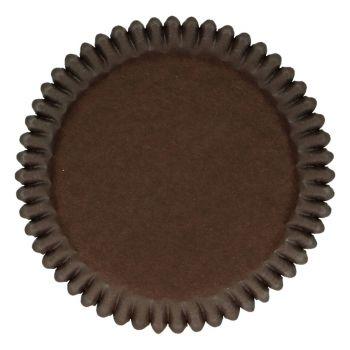 48 Caissettes chocolat Funcakes