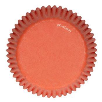 48 Caissettes orange Funcakes