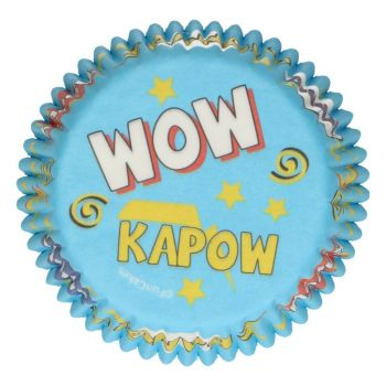 48 Caissettes cupcakes Super héros