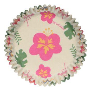 48 Caissettes Tropical Funcakes