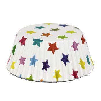 30 Caissettes alu étoiles PME