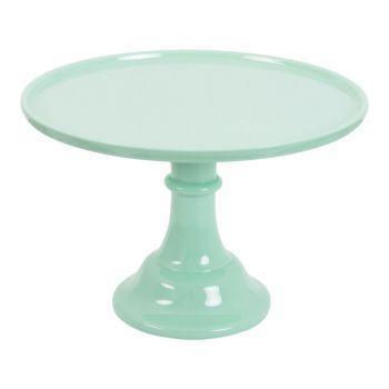 Stand à gâteau vert menthe