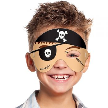 Masque en mousse pirate enfant