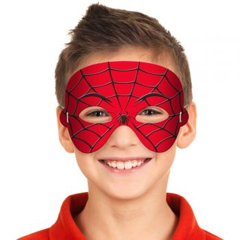 Masque en mousse spiderman enfant