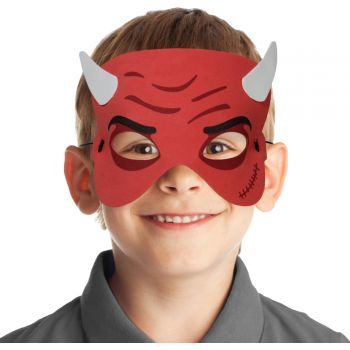 Masque en mousse diable enfant