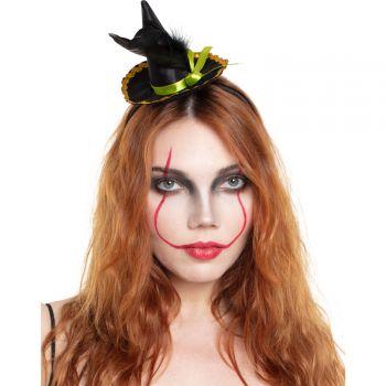 Serre tête chapeau de sorcière