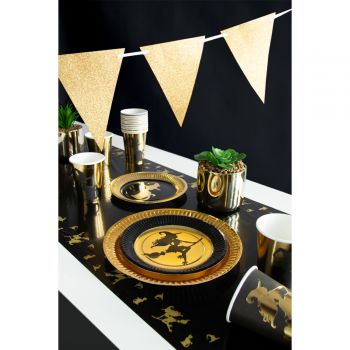 Chemin de table gold witch