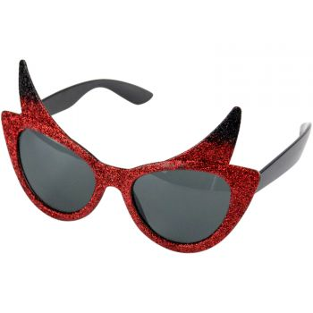Lunette diable pailleté