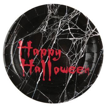10 assiettes Halloween Clown