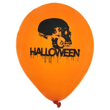 8 Ballon Halloween crâne