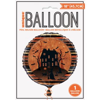 Ballon hélium nuit Halloween