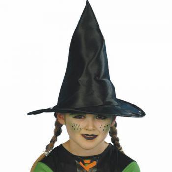 Chapeau de sorcière noir enfant