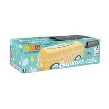 Kit moule à gâteau summer cake Scrapcooking