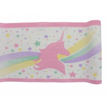 Chemin de table Licorne coton