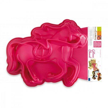 e moule en silicone vous permettra de confectionner un gâteau en forme de cheval.ScrapCooking® a imaginé pour vous une gamme de...
