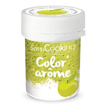 Color arome vert pomme Scrapcooking