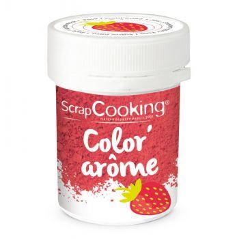 Color arome rose fraise Scrapcooking