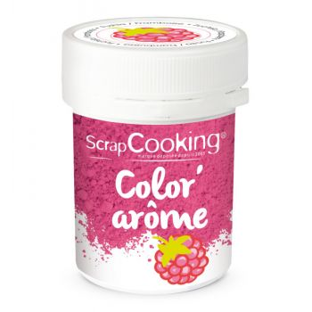 Color arome rose framboise Scrapcooking