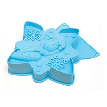 Moule à gâteau silicone Reine des Neiges