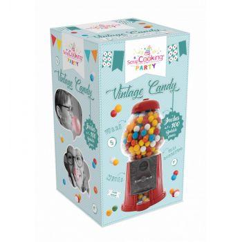 Distributeur bonbons vintage avec chewing gum Scrapcooking