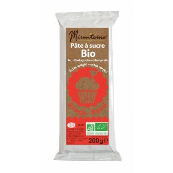 Pâte à sucre BIO rouge Mirontaine 200gr