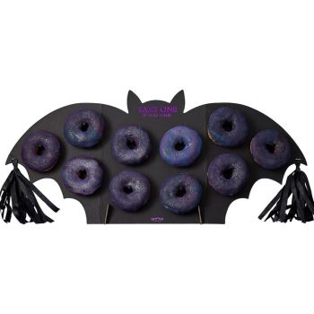 Présentoir à donuts chauve souris
