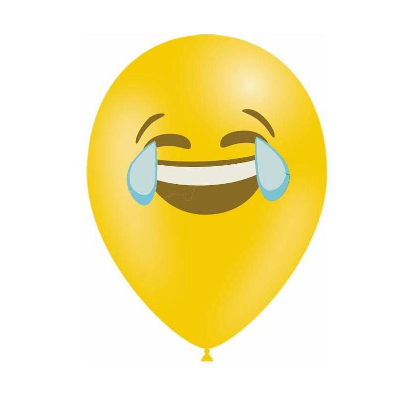 10 Ballons Emoticones Lol Deco Anniversaire